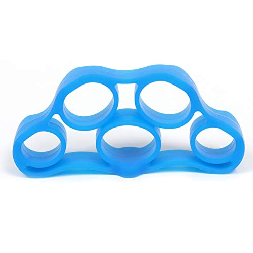 Zhou-YuXiang Portable Fitness Hand Finger Trainer Band Tension Tool Strength Exerciser Muscle Power Silicone Expander Training Recovery