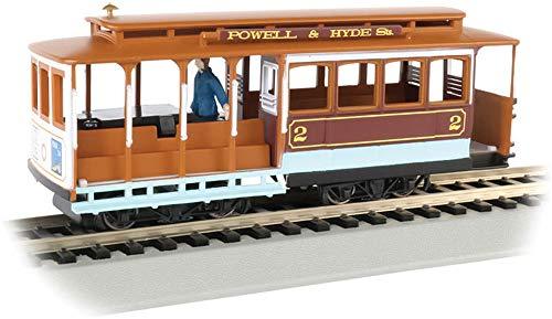 Spur HO - Bachmann Straßenbahn Cable Car Powell & Hyde Streets