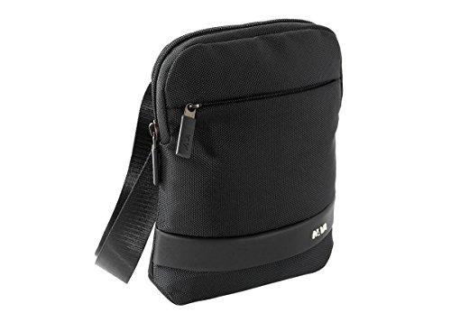 NAVA Slim Bag - Tracollina porta IPad mini nero