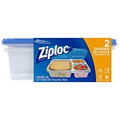 Wide rim, finger grips and a ridged lid make handling easy Measurement lines on containers for exact portion size Ziploc brand containers are perfect for: 100-calorie servings, on-the-go snacking, packing in kids lunches and bringing lunch to the off...