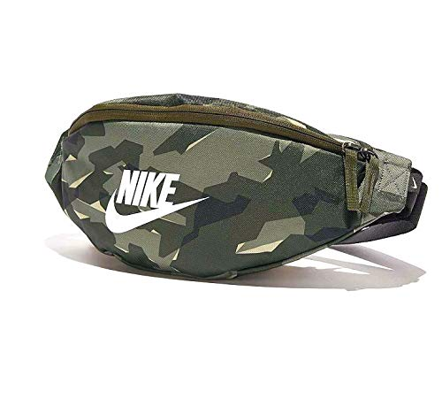 Nike Heritage Sportswear Retro Camo Bag Fanny Pack, Olive Green