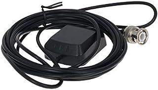 DealMux Antena Activa GPS BNC MaleStraight 3M, 27dB LNA Ganancia 1575.42MHz Señal de GPS de Antena Activa más Fuerte
