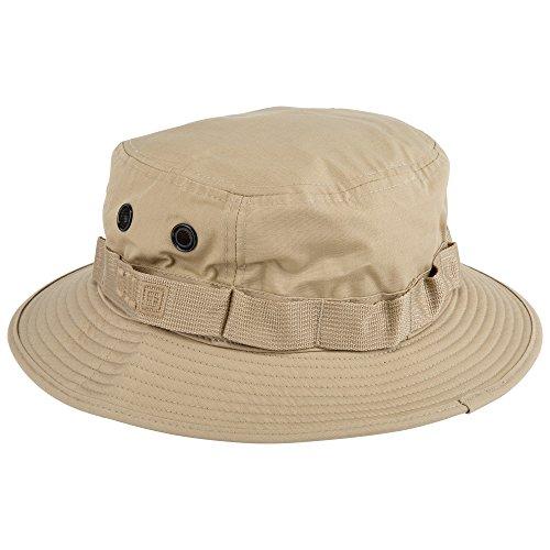 5.11 Chapeau de Boonie Tactique pour Homme en Polyester et Coton TDU Khaki Style 89422