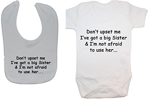 Acce Products - Body - Manches courtes - Bébé (fille) 0 à 24 mois - Blanc - Blanc - 12-18 mois