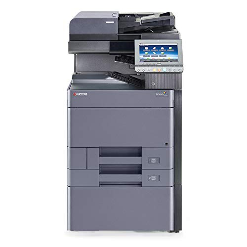 Find Bargain Kyocera TaskAlfa 2552ci A3/A4 Color Laser Multifunction Copier – 25ppm, SRA3/A3/A4, Copy, Print, Scan, Email, Auto Duplex, Network, Mobile Printing Support, USB, 1200 x 1200 DPI, 2 Trays, Stand