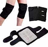 A pair of self-heating Knee straps for Osteoarthritis