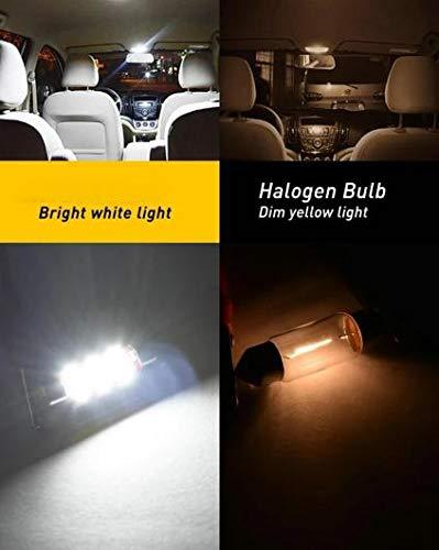AL LED 車用 内装 ライト 対応車種: 日産 NP300 ナバラ D40 D22 ピックアップ T5 10ピース ホワイト AL-JJ-2429-T008-WH