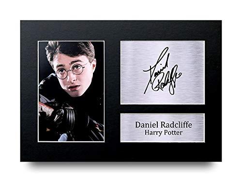 HWC Trading Daniel Radcliffe A4 Ungerahmt Signiert Gedruckt Autogramme Bild Druck-Fotoanzeige Geschenk Für Harry Potter Filmfans