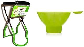 Jar Lifter Kitchen Funnel Fits Wide and Regular Mouth Jars Grabber Gripper Pressure Cooker Tongs Set Supplies
