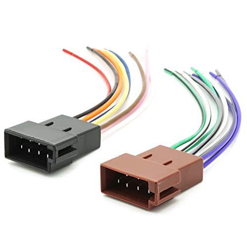 altavoz ISO enchufe universal para la radio del coche cable electricidad