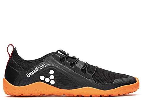 Vivobarefoot Primus Swimrun, Womens Swimrun Trail Running Shoe, with Barefoot Sole Black