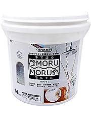 ニッペ 手で塗るMORUMORU(モルモル) 14kg 白 漆喰風塗料