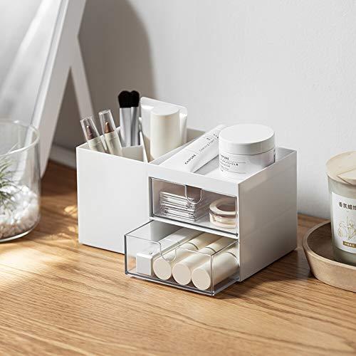 Creative Desktop Aufbewahrungsbox Schublade Einfache Kommode Kosmetische Make-up Pinsel Büro Schreibtisch Stifthalter Schlafsaal Student Briefpapier Finishing Box Kunststoff