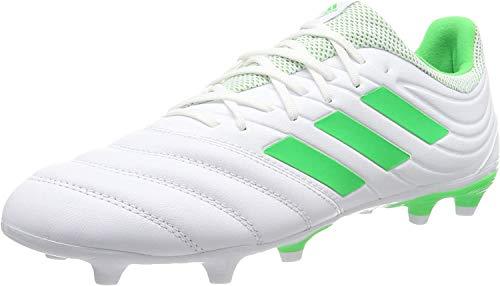 adidas Herren COPA 19.3 FG Fußballschuhe, Weiß (FTWR White/Solar Lime/FTWR White FTWR White/Solar Lime/FTWR White), 44 EU