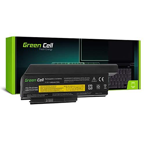 Green Cell® Extended Serie 42T4861 Batería para Lenovo ThinkPad X220 X220i X220s Ordenador (9 Celdas 6600mAh 11.1V Negro)