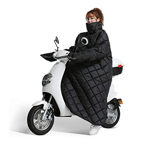 Tongyundacheng Protector De Piernas para Lluvia con Guante, Protector De Delantal De Piernas para Scooter, Protección Universal para Piernas De Motocicleta con Guantes De Manillar para Motocic