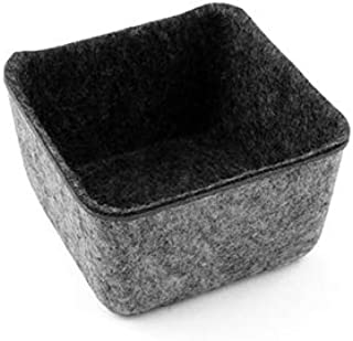 Felt Like It! Drawer Organizer Small Square Charcoal