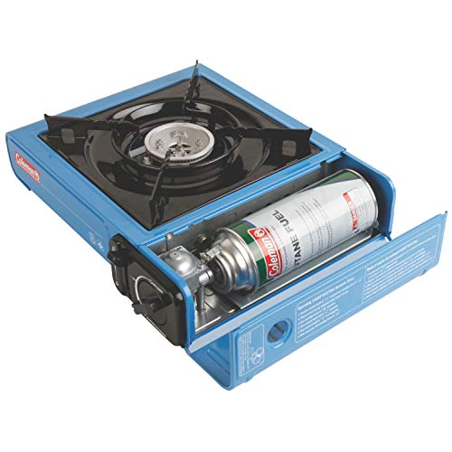 41ujVodz3mL - Coleman Portable Butane Stove with Carrying Case