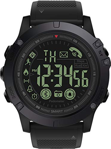 Mens Digital Sports Watch Waterproof Outdoor Military Pedometer...