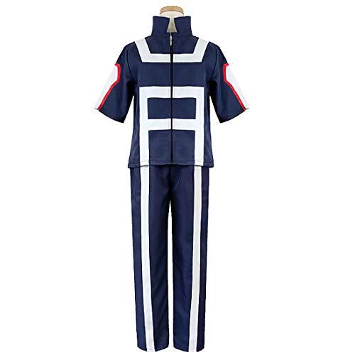 YKJ Anime Charaktere Animation College Hero Uniform Tägliche Kleidung Anime Kostüm Cosplay Anime Kostüm,Full Set-S