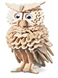 Quay Owl Woodcraft Construction Kit FSC