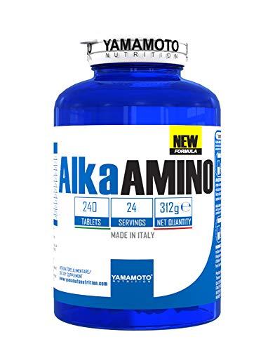 Yamamoto Nutrition New Formula Alka Amino - 240 Compresse, 312 gr
