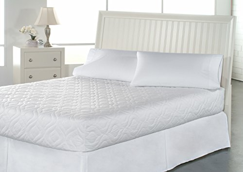 Bedsack by Perfect Fit | Classic Quilted Mattress Pad, Hypoallergenic & Stain Resistant (Twin XL)