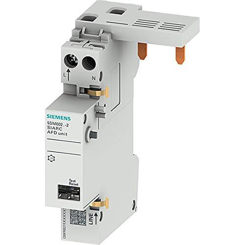 SIEMENS - 5SM60212 Brandschutzschalter-Block AFDD 1-16A 230V für LS- und FI/LSSchalter 1+N 2TE
