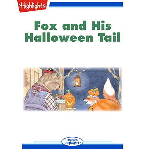 Fox and His Halloween Tail audiobook cover art