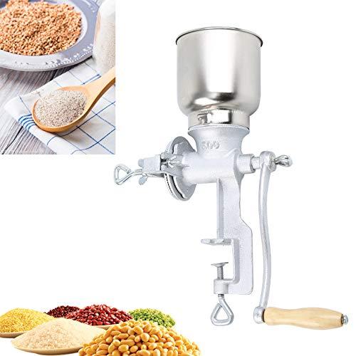Samger Manuelle Getreidemühle für Maisweizenkorn Kaffeebohnen Nuss Malzmühle aus Gusseisen Kaffeemühle Nussmühle