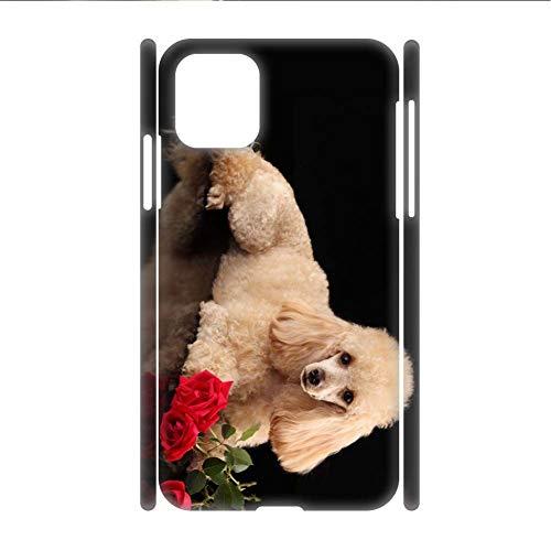 Impresión Poodle para Los Hombres Compatible con Samsung S21Ultra Caja De Plástico Rígido Kawaii
