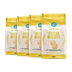 Envase de 4 Con 23 % de mantequilla suiza Apto para dietas vegetarianas Sin colorantes ni aromas Su delicado aroma a mantequilla lo hace el complemento perfecto para el té o el café Producto fabricado en Suiza
