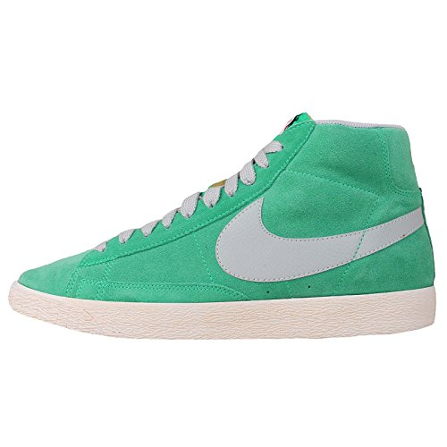 Scarpa Uomo casual Nike Blazer Prm Vntg Mid Canvas, verde, taglia: 45