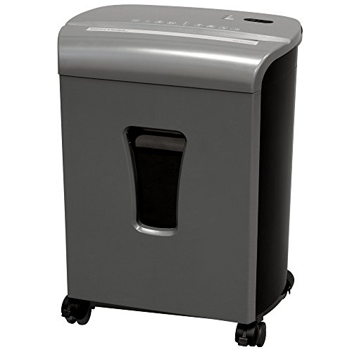 Best Prices! Sentinel FM101P-GUN 10-Sheet High Security Micro-Cut Paper/Credit Card Shredder with 3....