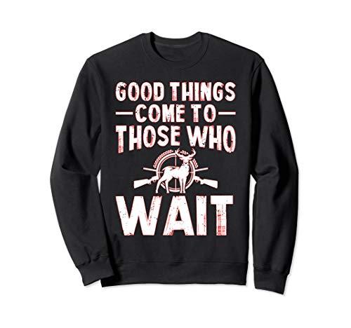 Lustiges Geschenk für Hirschjagd, Vater, Outdoorsman Sweatshirt