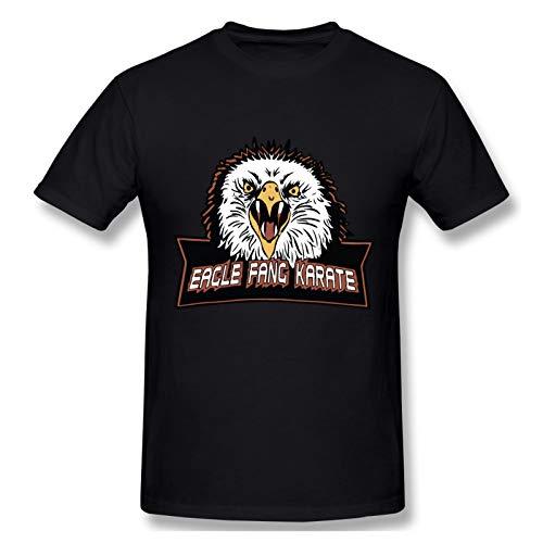 QPLOBH Men's Short Sleeve Crew T-Shirt Black XL