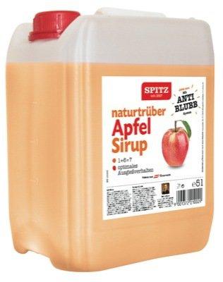 SPITZ Apfel naturtrüb Fruchtsirup 5 Liter Box