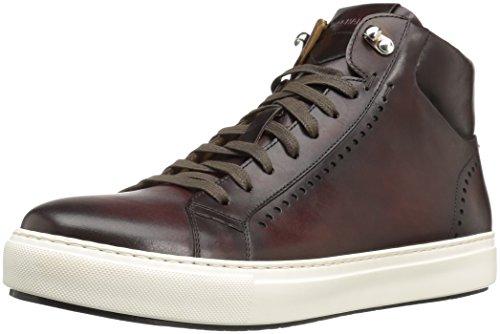 Magnanni Herren Carlo Fashion Sneaker, Braun (Mittelbraun), 44.5 EU