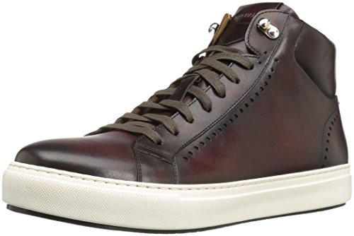 Magnanni Herren Carlo Fashion Sneaker, Braun (Mittelbraun), 43 EU