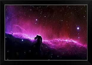 CANVAS ON DEMAND Horsehead Nebula Black Framed Art Print, 27