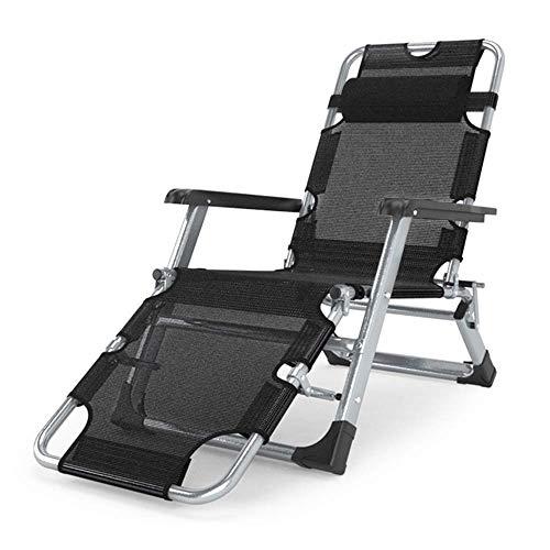 YLCJ Vouwstoelen zwaartekracht liggende nul deck stoel Texteline Multiposition ligstoel voor buiten tuin patio (kleur: D) A