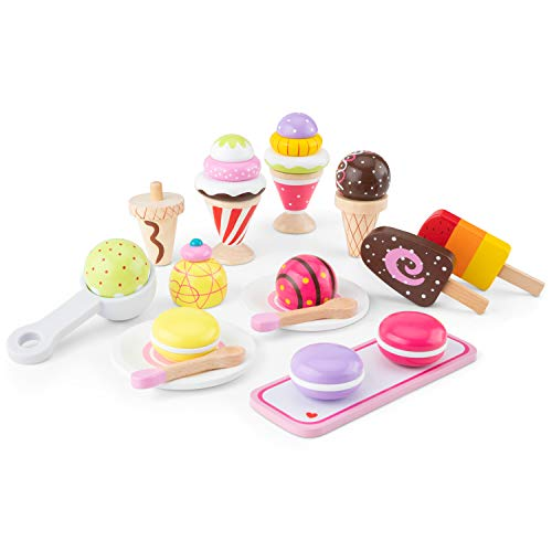 New Classic Toys - 10630 - Kinderrollenspiele - Eiscreme Set