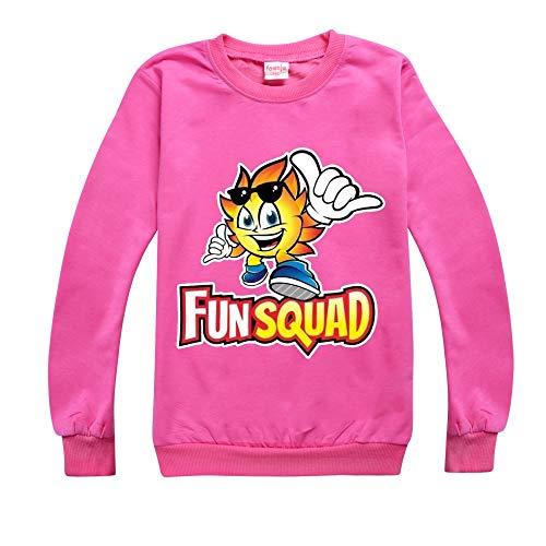 Camiseta unisex de manga larga con estampado de moda para niños y niñas