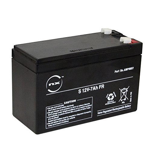 NX - Batería plomo AGM S 12V-7Ah FR 12V 7Ah T1
