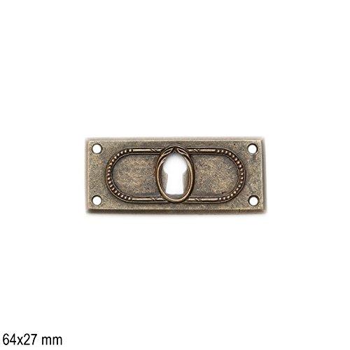 Antikmöbel Griff Schlüsselschild (2462)