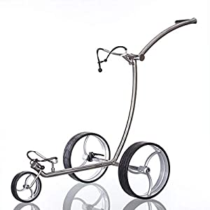 Trendgolf Golf Push Trolley, Silber
