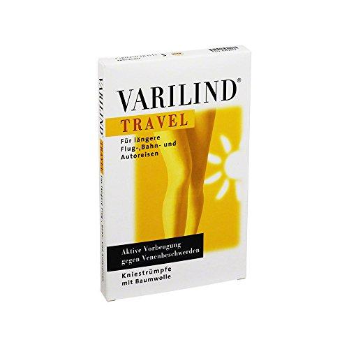 Varilind Travel Reise-St�tzstrumpf beige S, 2 St