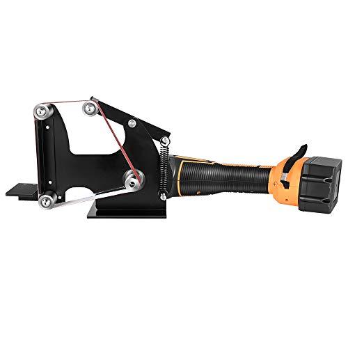 Urtzcoye Amoladora Angular,Batería de 21 V,con Adaptador de Lijadora de Banda,Amoladora Angular Multifuncional,Pulidora Profesional,para Pulir,Brillante,Herramienta de Bricolaje