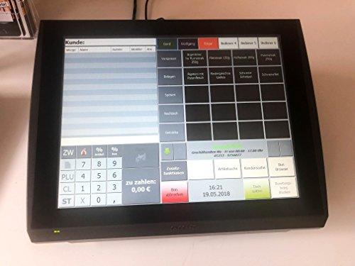 Cash to Go Gastronomie kasse 15pouces Display–Imprimante intégré et logiciel incl. kasse | simplypos