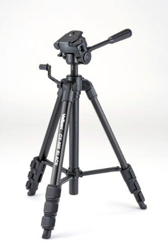 Velbon CX-888 Aluminium Dreibein-Stativ (Höhe 145, Belastbarkeit 1,5 kg) schwarz